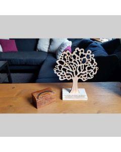 Text-Baum Lebensbaum