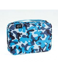"""Bibeltasche """"Camouflage - blau/grau"""""""