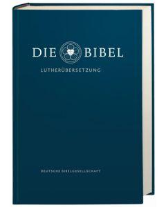Luther 2017 Gemeindebibel mit Apokryphen blau