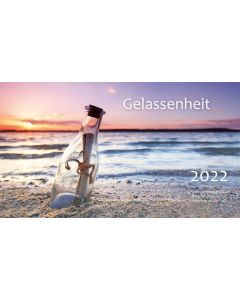 Gelassenheit 2022 - Minikalender