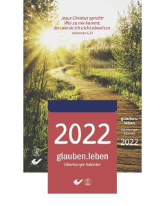 glauben.leben 2022 - Abreißkalender