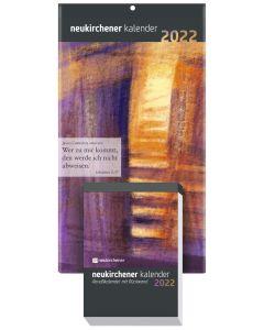 Neukirchener Abreißkalender 2022 - mit Rückwand