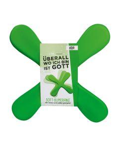 Soft-Bumerang grün