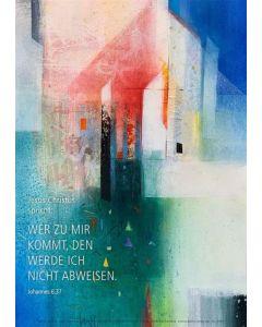 Jahreslosung 2022 - Kunstblatt DIN A4
