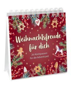 Weihnachtsfreude für dich - Aufstellbuch