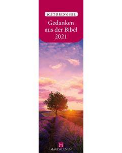 Gedanken aus der Bibel 2022 - Lesezeichenkalender