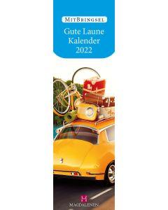 Gute Laune Kalender 2022 - Lesezeichenkalender