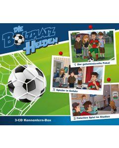 Die Bolzplatzhelden - 3-CD Kennlernbox