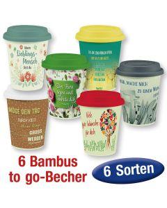 Spar-Paket: Bambusbecher