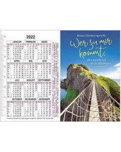 Jahreslosung 2022 - Doppel-Spielkartenkalender