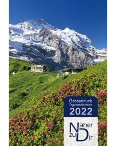 Näher zu Dir 2022 - Buchkalender Großdruck