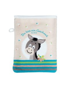Waschhandschuh  Kinder - Esel Felix