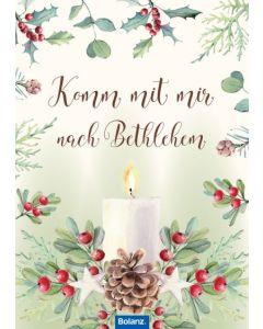 "Grußheft ""Komm mit mir nach Bethlehem"""