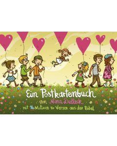 Ein Postkartenbuch