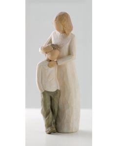 """26102 Willow Tree Figur """"Mutter und Sohn"""" - """"Mother & Son"""""""