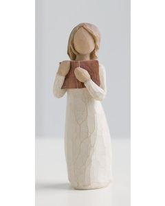 """26165 Willow Tree Figur """"Liebe zum Lernen"""""""