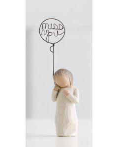 """26183 Willow Tree Figur """"Ich vermisse dich"""""""