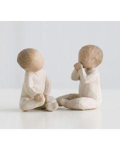 """26188 Willow Tree Figur """"Zwei Babys beisammen"""""""