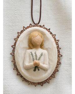 "26212 Willow Tree Figur ""Erinnerung (Medaillon)"""