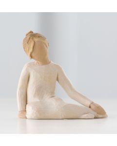 """2625 Willow Tree Figur """"Nachdenkliches Kind"""""""