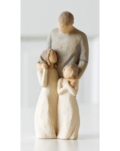 """26232 Willow Tree Figur """"Liebeswürdigkeit - """"Meine Töchter"""""""