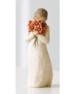 """26233 Willow Tree Figur """"Liebeswürdigkeit - """"Umgeben von Liebe"""""""