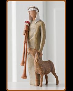 """27183 Willow Tree Figur """"Ziegenhirte"""""""