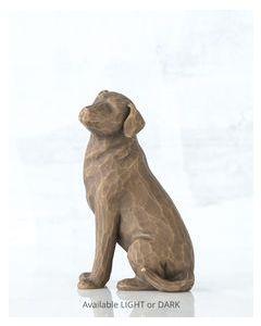 """27683 Willow Tree Figur """"Ich liebe meinen Hund"""""""