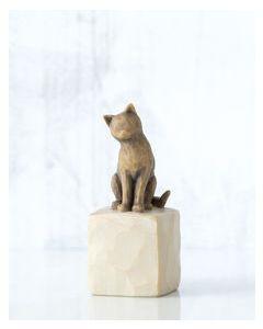"""27684 Willow Tree Figur """"Ich liebe meine Katze"""""""