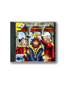 CD Chönig David + Salomo - ChinderHörspielBible 1O