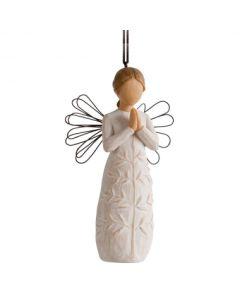 """26191 Willow Tree Figur """"Ein Baum, ein Gebet Engel. (Aufhänger)"""""""