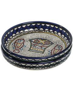 Große Schale Mosaik