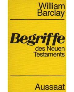 Begriffe des Neuen Testaments (Occasion)