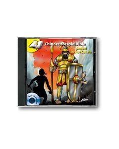 CD Samuel/David + Goliath - ChinderHörspielBible 9