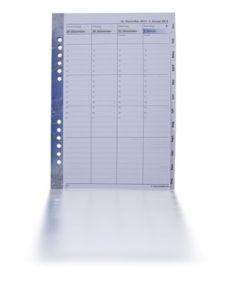 tempus 52 A5-Format 1 Woche auf 2 Seiten, weisses Papier