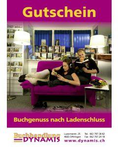 """Gutschein """"Buchgenuss nach Ladenschluss"""""""