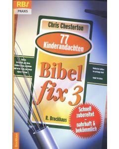 BIBEL  fix 3  (Occasion)