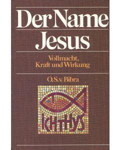 Der Name JESUS  (Occasion)