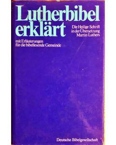 Lutherbibel erklärt (Occasion)