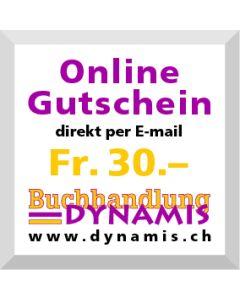Online Geschenkgutschein Fr. 30.- (via Mailversand)