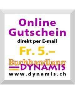 Online Geschenkgutschein Fr. 5.- (via Mailversand)