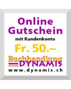 Online Geschenkgutschein Fr. 50.- (mit Kundenkonto)