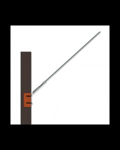 Wandbefestigung mit 120cm langem Stab